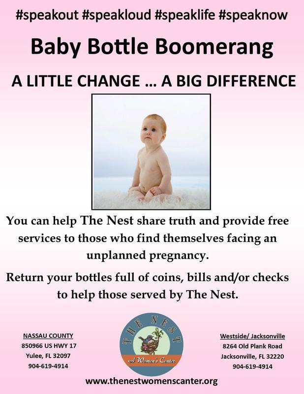 Baby Bottle Boomerang - The Nest, A Women's Center